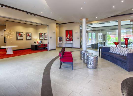 Grand Lobby Entrance At Domain by Windsor,1755 Crescent Plaza, Houston, TX 77077 Grand Lobby Entrance