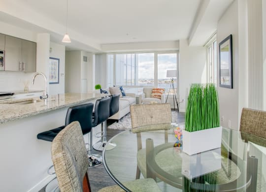 spectacular views at Waterside Place by Windsor, Boston, Massachusetts