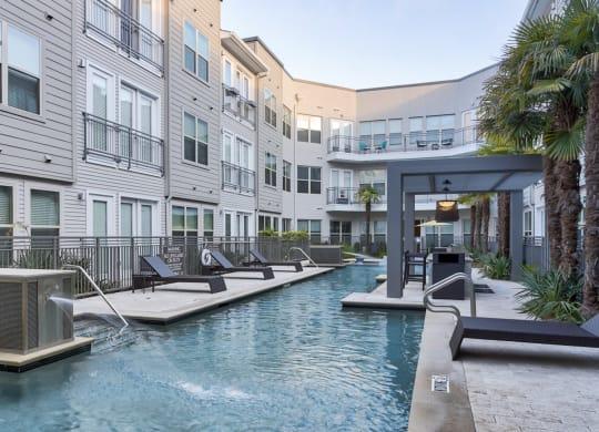 Invigorating Pool at Windsor West Lemmon, Dallas, TX