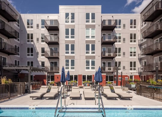 New Apartments Des Plaines, IL with Pool,  Gourmet Kitchens, Prep Island, Stainless Appliances, and more-Ellison Apartments
