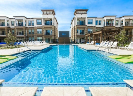 Front Pool View at McKinney Square, McKinney, TX, 75070