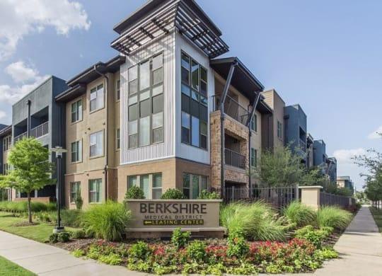Exquisite Exterior at Berkshire Medical District, Dallas