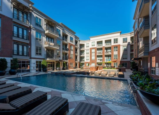Refreshing Pool With Large Sundeck And Wi-Fi at ALARA Uptown, Dallas, TX, 75204