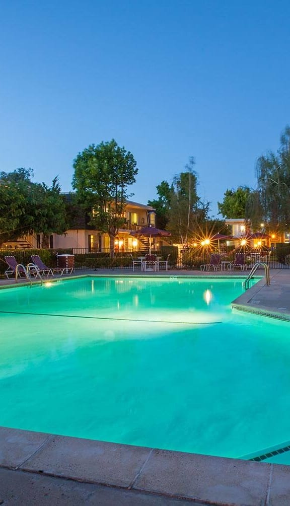 Relaxing Swimming Pool at Normandy Park, Santa Clara, CA