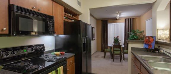 Fully Equipped kitchen at Villas at Stone Oak Ranch, Austin, TX