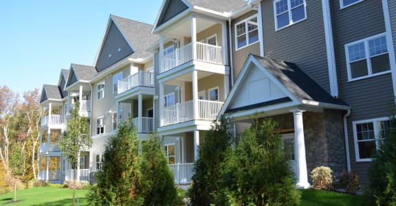 Gorgeous Day at Ashland Woods Apartments in Ashland MA