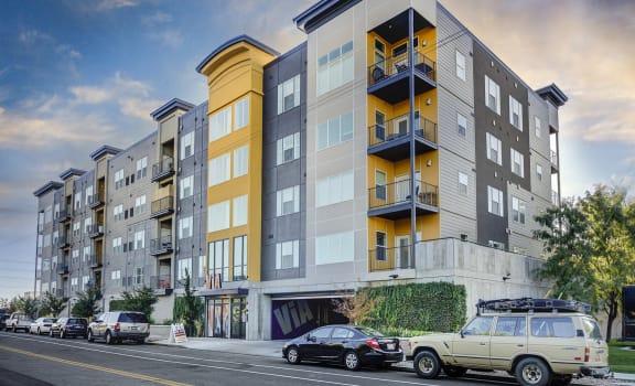 Via Apartments Building Exterior