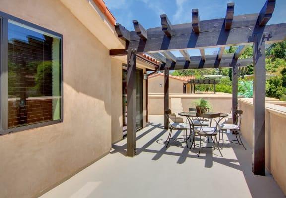 Vista Paradiso patio