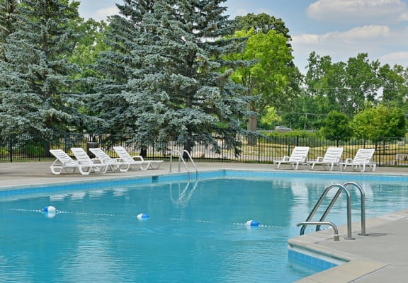 Resort Inspired Pool with Sundeck at Shannon Manor Townhomes, Davison