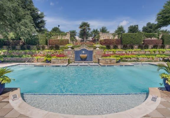 Glimmering Pool at Estancia Townhomes, Dallas, TX, 75248