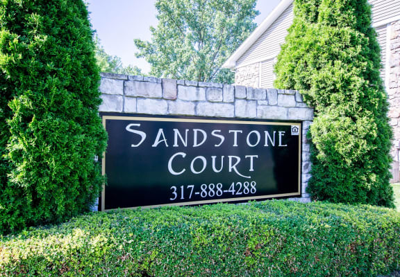 Beautiful Main Entrance at Sandstone Court