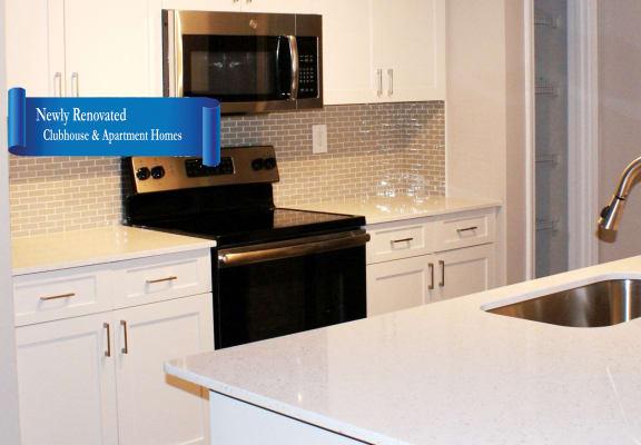 Upgraded Kitchen at Veranda property LLC, Lawrenceville, GA