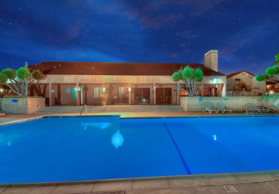 Sparkling Swimming Pool at WOODSIDE VILLAGE, California, 91792