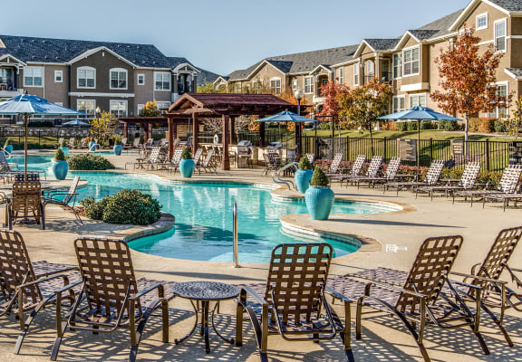 Pool Deck at Orion McCord Park, Texas, 75068