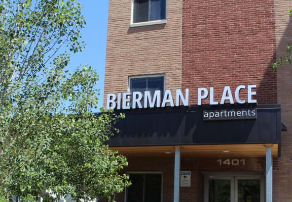 Access Controlled Entry Gate at Bierman Place, Minnesota