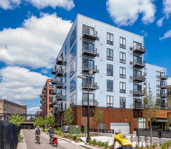 Dock Street Flats Exterior View