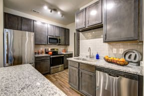Kitchen Appliances at The Gentry at Hurstbourne, Louisville, KY, 40222