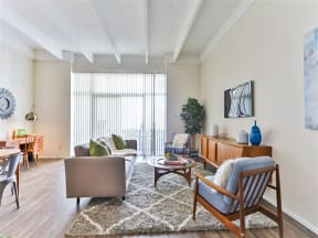 Living Rooms With Wood-Style Flooring at Paradise Palms, Phoenix, 85014