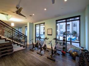 Peloton Bike And Training Space at LaVie Southpark, Charlotte
