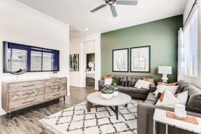 Modern Living Room at Avilla Camelback Ranch, Phoenix, 85037