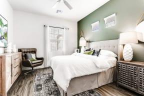 Master Bedroom at Avilla Camelback Ranch, Arizona, 85037