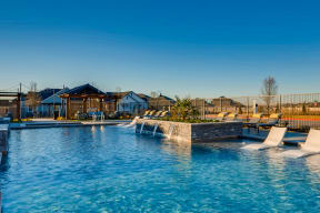 Outdoor Swimming Pool at Avilla Reserve, Justin, TX