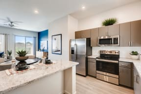 Fully Equipped Kitchen With Modern Appliances  at Avilla Meadows, Surprise, AZ, 85379