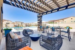 Swimming Pool with Lounge Seating at Avilla Meadows, Arizona, 85379