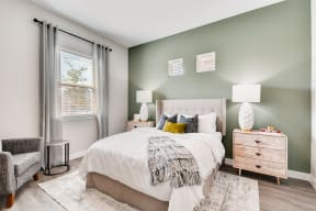 Bedroom With Expansive Windows at Avilla Parkway, Celina, 75009