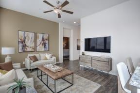 2 Bedroom Floor Plan Living Room