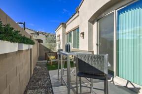 Private Backyards at Avilla Paseo, Phoenix, Arizona