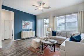 Living Room With Expansive Window at Avilla Paseo, Phoenix, AZ, 85027