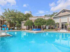 shimmering swimming pool