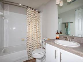 jackson square tallahassee apartments model home full bathroom