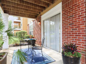 jackson square tallahassee apartments model home patio