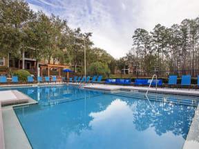 jackson square beautiful pool view