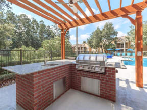 jackson square apartments outdoor barbecue grill
