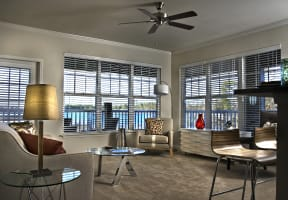 Marina Bay Lakeside Apartment Living; Lake Murray SC; Model Apartment