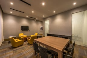Meeting room | The Merc at Moody and Main