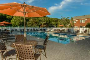 Poolside Dining Tables| Cliffside