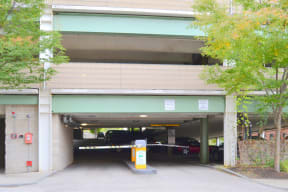 Garage Entrance  Residences at Manchester Place