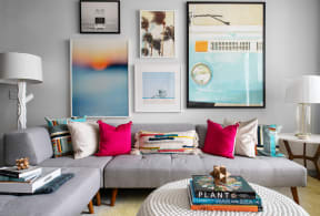 Living room  | District at Rosemary