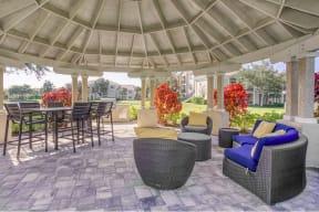 Outdoor Lounge area  |Cypress Legends