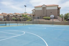 Basketball court  | Promontory