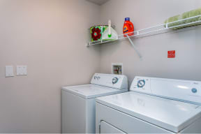 Laundry in apartment  |Cypress Legends