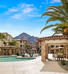 Poolside Cabana With Bbq| Villas at San Dorado