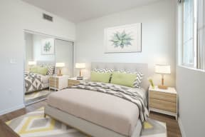 Plenty of Natural Light at Le Blanc Apartment Homes, Canoga Park, CA