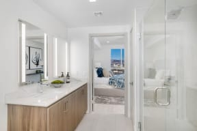 Luxurious Bathrooms at The Q Variel, Woodland Hills, 91367