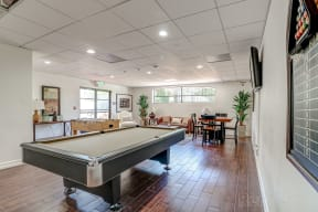 Billiard Table at Le Blanc Apartment Homes, Canoga Park, 91304