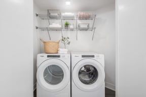 Washer And Dryer In Unit at The Q Variel, California, 91367